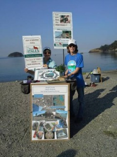 Trail Tales Shoreline: Forage Fish Station in Action